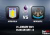 Aston Villa v Newcastle Prediction - EPL - 24 JAN 21