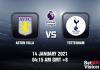 Aston Villa v Tottenham Prediction - EPL - 14 JAN 21