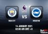 Man City v Brighton Prediction - EPL - 14 JAN 21