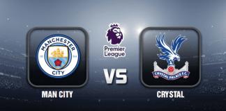 Man City v Crystal Prediction - EPL - 18 JAN 21