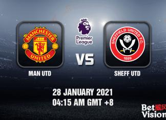 Man Utd v Sheff Utd Prediction - EPL - 28 JAN 21