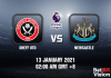 Sheff Utd v Newcastle Prediction - EPL - 13 JAN 21