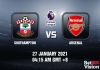 Southampton v Arsenal Prediction - EPL - 27 JAN 21