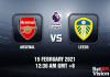 Arsenal v Leeds Prediction - EPL - 15 FEB 21