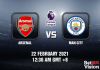 Arsenal v Man City Match Prediction - EPL - 22 FEB 21