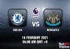 Chelsea v Newcastle Match Prediction - EPL - 16 FEB 21