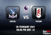Crystal v Fulham Match Prediction - EPL - 28 FEB 21