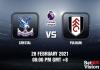 Crystal v Fulham Match Prediction - EPL - 28 FEB 21