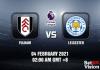 Fulham v Leicester Prediction - EPL - 4 FEB 21