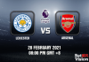Leicester v Arsenal Match Prediction - EPL - 28 FEB 21