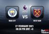 Man City v West Ham Match Prediction - EPL - 27 FEB 21