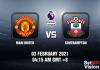 Man United v Southampton Prediction - EPL - 03 FEB 2021