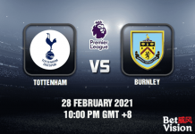 Tottenham v Burnley Match Prediction - EPL - 28 FEB 21