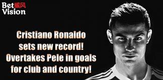 Cristiano Ronaldo sets new record 770 goals