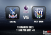 Crystal v West Brom Match Prediction EPL 13 MAR 21