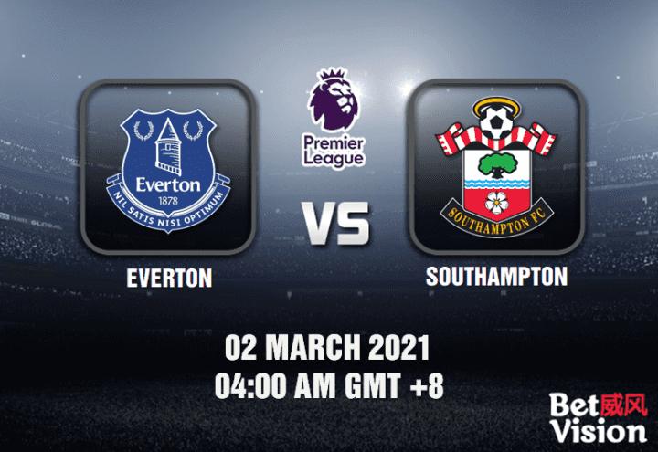 Everton v Southampton Match Prediction - EPL - 02 MAR 21