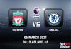 Liverpool v Chelsea Match Prediction - EPL - 5 FEB 2021