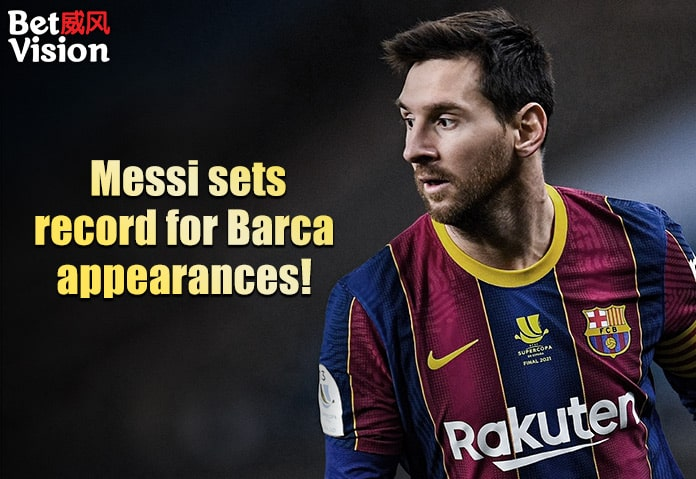 Messi Sets Record for Most Barca Appearances
