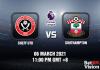 Sheff Utd v Southampton Match Prediction - EPL - 6 MAR 21