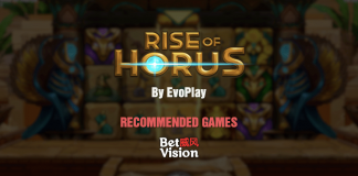 Slot Recommended Games Rise of Horus by Evoplay