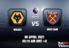 Wolves v West Ham Match Prediction EPL 6 APR 21