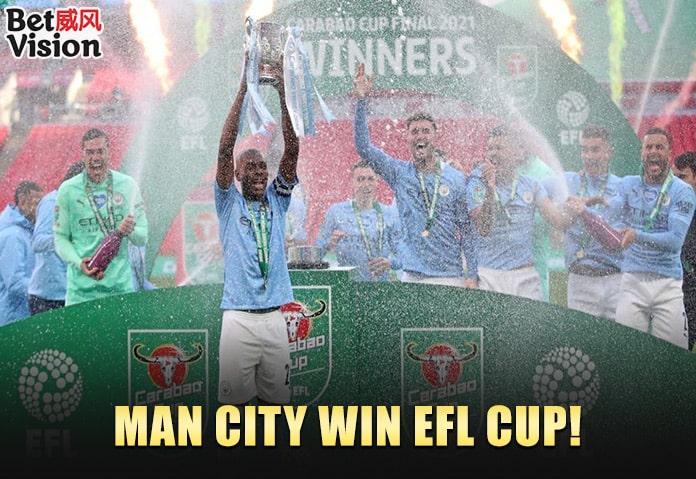 BV News-Man City win EFL Cup