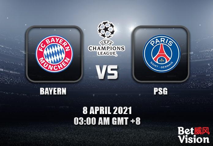 Bayern v PSG Prediction UEFA CL 07 APR 21