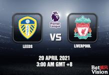 Leeds v Liverpool Match Prediction EPL 20 APR 21