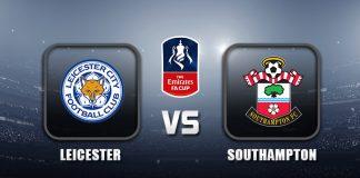 Leicester v Southampton FA Cup 19 APR 21