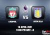 Liverpool v Aston Villa Match Prediction - EPL - 10 APR 21