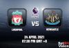 Liverpool v Newcastle Match Prediction EPL 24 APR 21