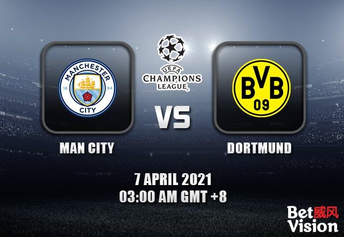 Man City v Dortmund Prediction UEFA CL 07 APR 21