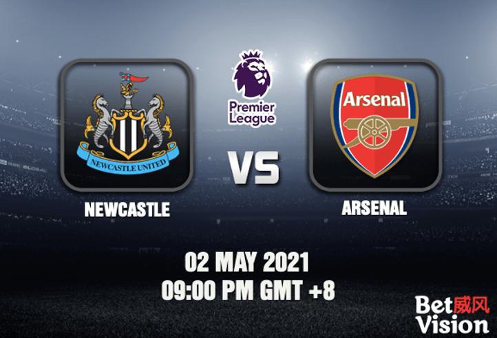 Newcastle v Arsenal Match Prediction EPL 02 MAY 21