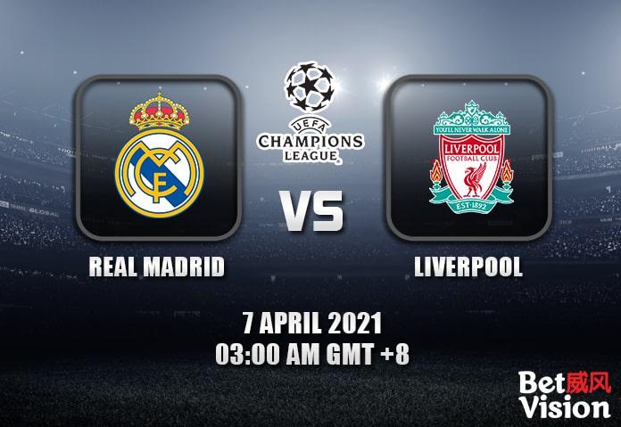 Real Madrid v Liverpool Prediction UEFA CL 07 APR 21