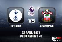 Tottenham v Southampton Match Prediction - EPL - 22 APR 21