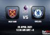 West Ham v Chelsea Match Prediction EPL 25 APR 21