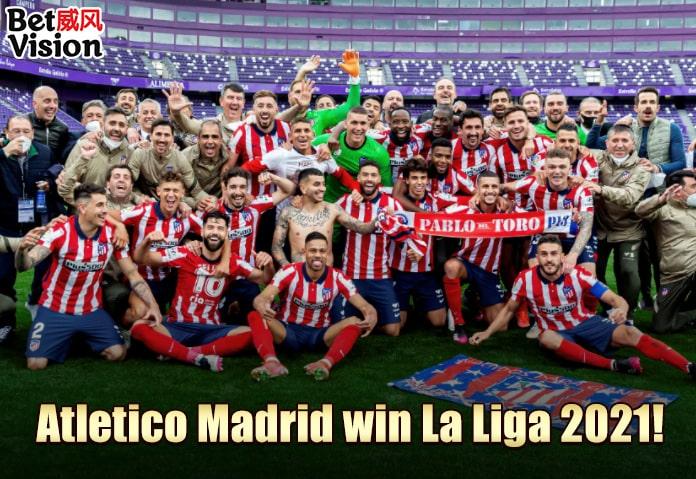 Atletico Madrid win La Liga 2021