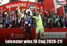 Leicester wins FA Cup 2021