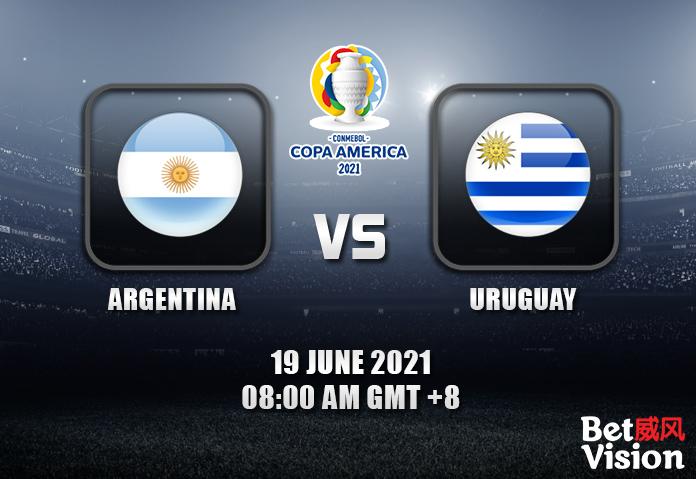 Argentina v Uruguay Prediction Copa America 19 JUN 21