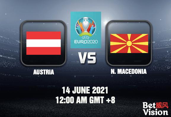 Austria v Macedonia Prediction - EURO 2020 - 14 JUN 21