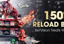 BetVision 150% Reload Bonus thumb