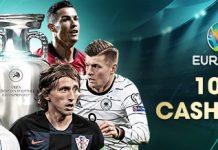EURO 2020 100% Cashback Bonus thumb