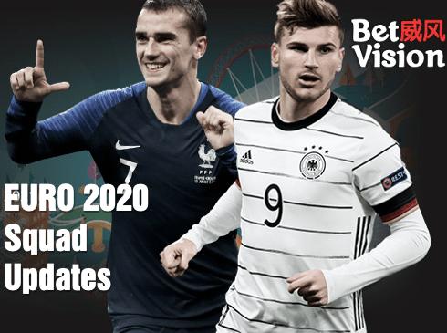 Euro 2020 Squad Updates 3
