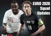 Euro 2020 Squad Updates 4