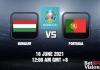 Hungary v Portugal EURO 2020 16 JUN 21