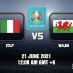 Italy v Wales Prediction EURO 2020 21 JUN 21