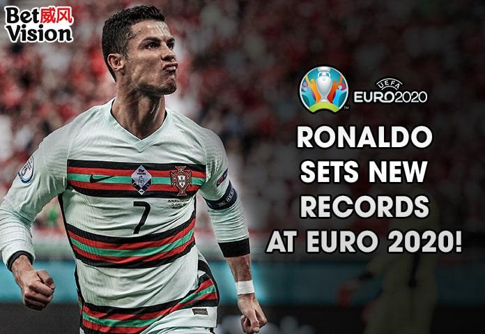 Ronaldo Sets New Records at EURO 2020