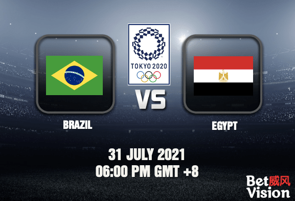 Brazil v Egypt Prediction Tokyo 2020 Mens Football 31 JUL 21