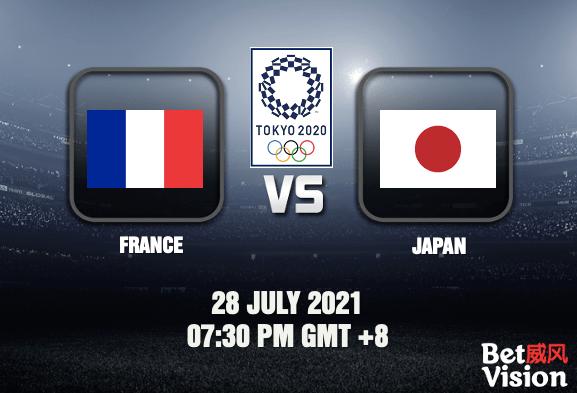 France v Japan Tokyo 2020 Mens Football 28 JUL 21