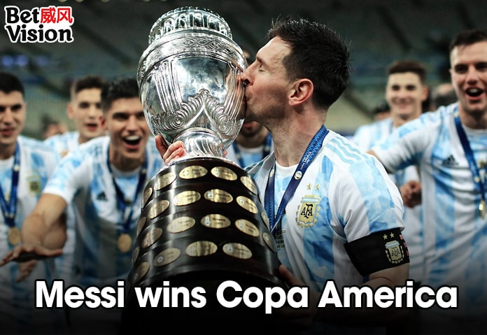 Messi Wins Copa America